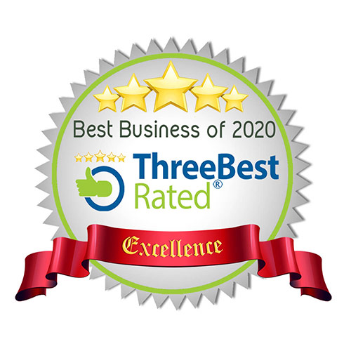 ThreeBest Rated Locksmith Business of 2020 Award
