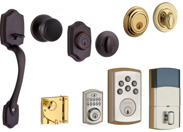 BALDWIN LOCKS, KEYS & DOOR HANDLES