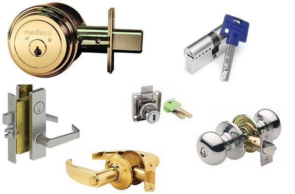 High Security door lock types