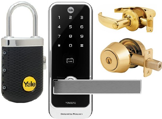 yale lock products