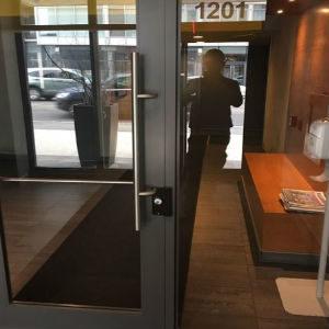 commercial locksmith entry door locks