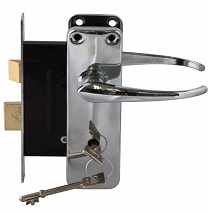 mortise-door-lock installation