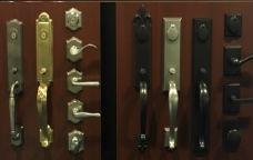 New door locks and handle sets