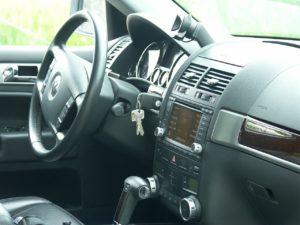 key locked in car