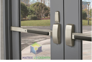 commercial locksmith front door exit devices installation