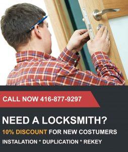 10% Discount for new customers Toronto Locksmith