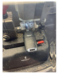 Kia key fob cut and copy