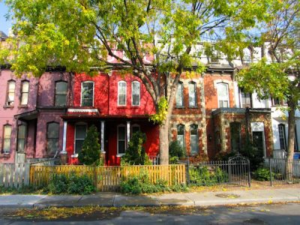 Image of house in Cabbagetown Toronto Cabbagetown, Old Toronto