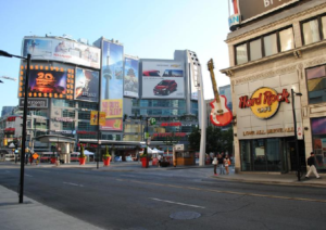 Entertainment District old Toronto