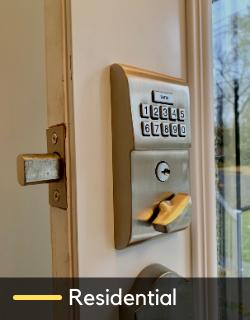 keypad lock change