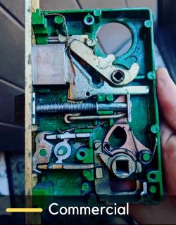 commercial lock change