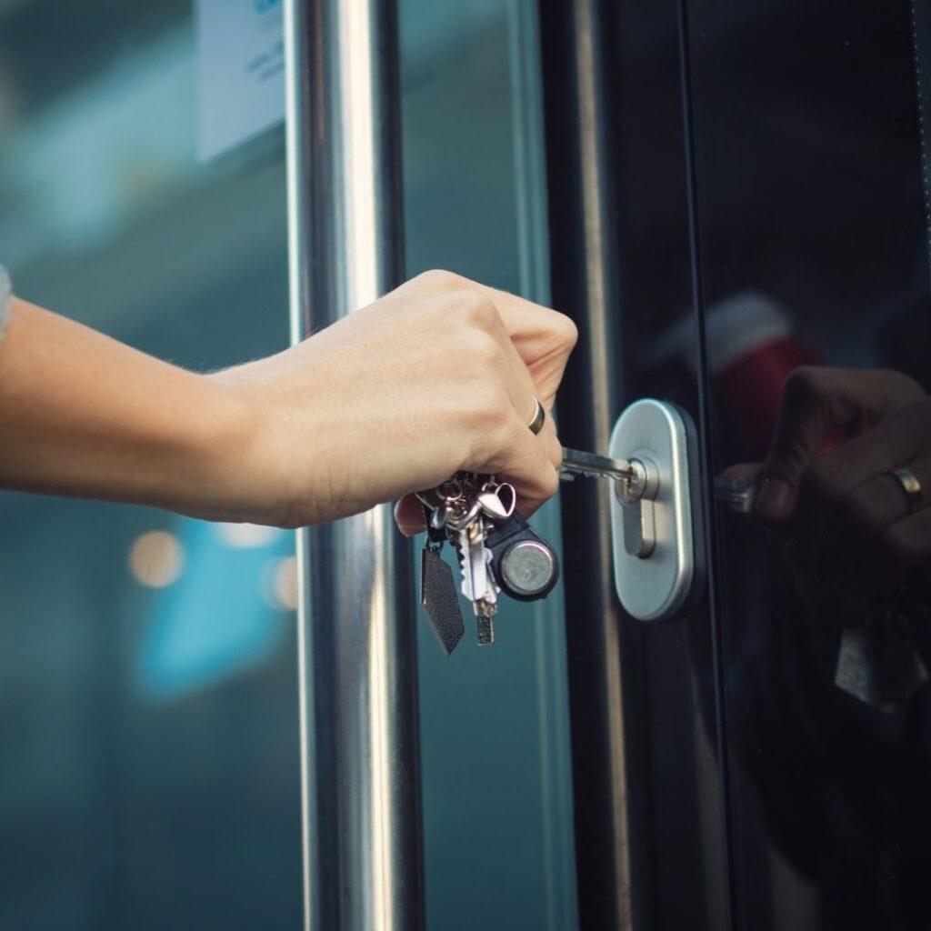 Key Lock Stuck