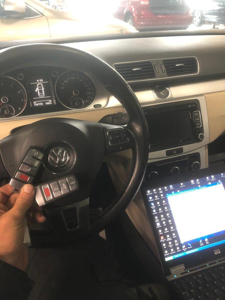 Volkswagen key programming